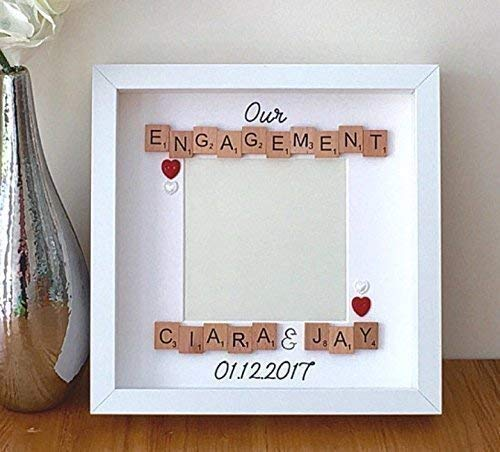Personalised Engagement Gift Frame Were Engaged Photo Frame Amazon