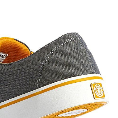 Element TOPAZ C3 - zapatilla deportiva de lona hombre gris - Grau (CHARCOAL DIJON 3683)