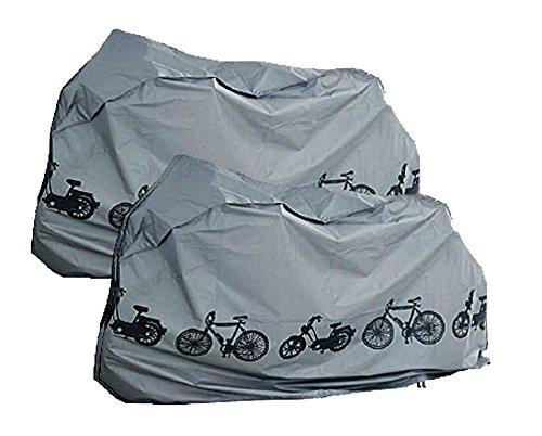 fahrradabdeckung Resistente al Agua y el/ástico All de around24/Bicicleta Garaje Tejido Lona Carcasa de Agua Densidad Funda Carcasa para Bicicleta para Bicicletas