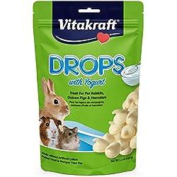 Vitakraft Rabbit Yogurt Drops Treat, 5.3 Ounce Pouch