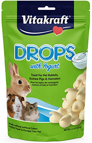 Vitakraft Rabbit Yogurt Drops Treat, 5.3 Ounce Pouch