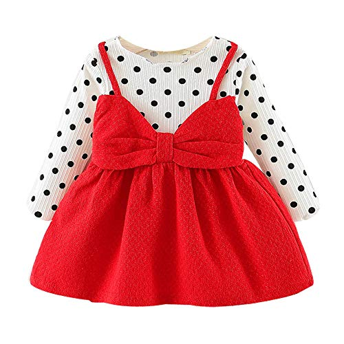 bitty baby clothes baby gap boys clothes baby racing clothes Newborn Infant Baby Girl Long Sleeve Dot Bowknot Princess Dress Clothes Outfits baby top cute 18 month girl clothes lsu baby clothes firs]()