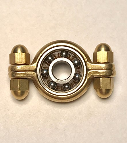 LXX-MD Brass Ring Hand Spinner Torq Bar Fidget Toy ADHD Anxiety EDC (Baby Jack Jack From The Incredibles)