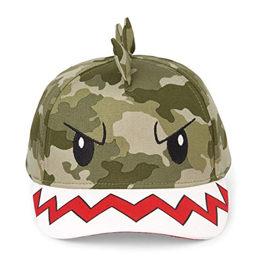 The Children's Place Baby Boys Novelty Graphic Baseball Cap, camo S/M (24M-3T) ()