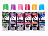 Jerome Russell B Wild Temp'ry Hair Color Spray 3 OZ 6 pack -- (Bengal...
