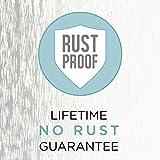 Zenna Home NeverRust Rustproof Aluminum Shower