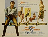 The King and Four Queens, Clark Gable and Eleanor Parker, Jean Willes, Barbara Nichols, Sa - Premium Movie Poster Reprint 36