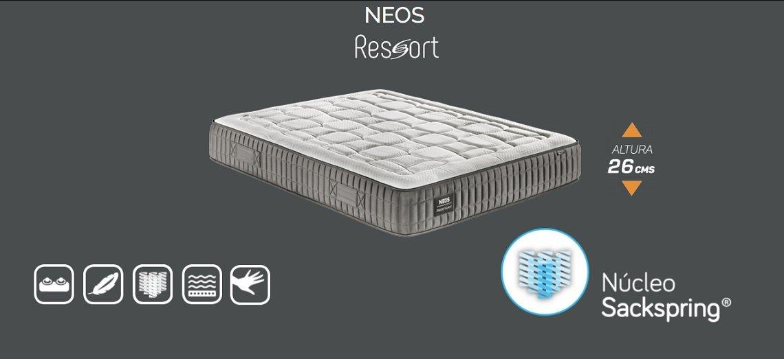 Marpe Colchón Neos, con Visco FormAdapt® y núcleo SackSpring® (90X190): Amazon.es: Hogar