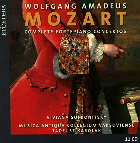- Mozart: Complete Fortepiano Concertos