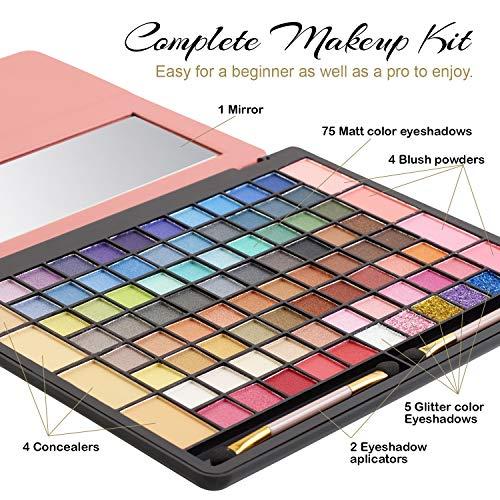 Makeup Kits for Teens – Tablet Case Eyeshadow Palette for Women and Teen – Full Starter Kit or Make Up Gift Set for Teen…