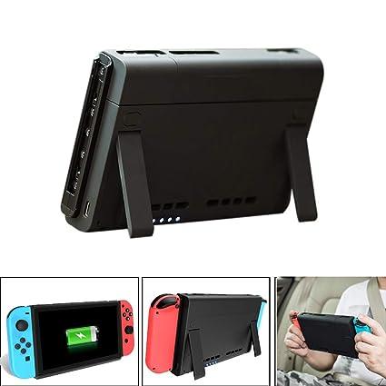 Qomomont Batería de Repuesto 6500mAh Compatible con Nintendo ...