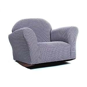 Amazon Com Keet Roundy Rocking Kid S Chair Brown Gingham