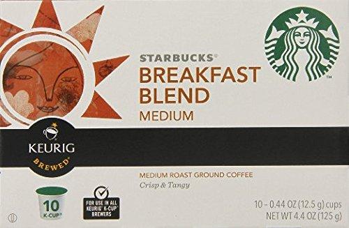 Starbucks Breakfast Blend K-Cup for Keurig Brewers