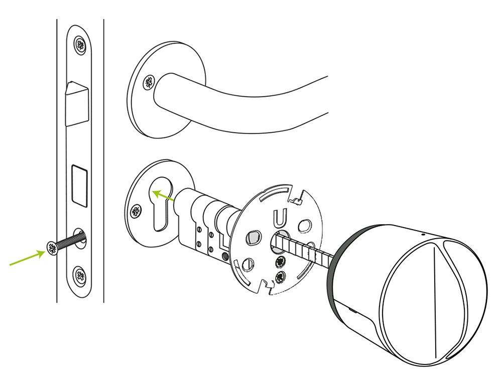 Danalock Smartlock V3 - Elektronisches Bluetooth: Amazon.de: Elektronik