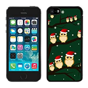 MMZ DIY PHONE CASEFeatured Desin ipod touch 4 TPU Case Christmas Owls Black ipod touch 4 Case 1