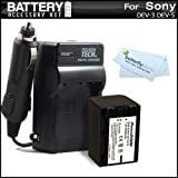 Best ButterflyPhoto Digital Cameras - Battery And Charger Kit For Sony DEV-3, Sony Review