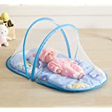 MLF-Baby Foldable Mosquito Net Newborn with stent,Blue,95*47*40cm