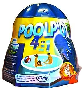 Gre 08013A - Poolpo para piscinas 10-20 m3 (tratamiento todo en uno)