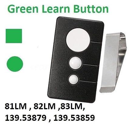 Sears Garage Door Opener Visor Remote Control Work With Green Learn