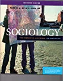 Sociology : Your Compass for a New World, Brym, Robert J. and Lie, John, 049500068X