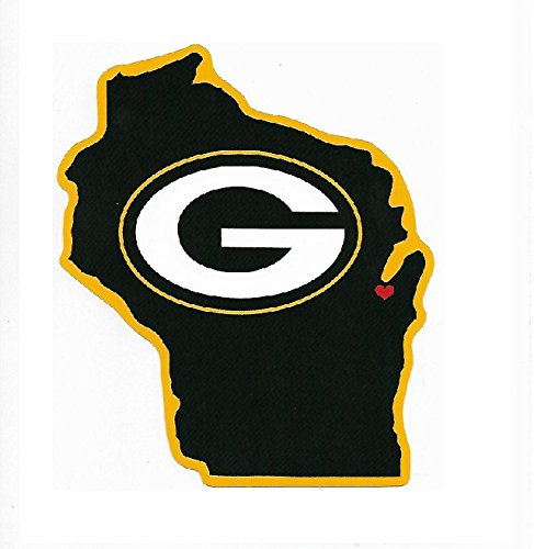Rico Industries NFL Green Bay Packers Home State Sticker