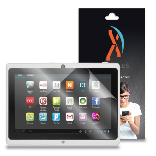 """XShields© (5-Pack) Tablet Screen Protectors for Chromo Noria Jr. 7"""" (Ultra Clear)"""