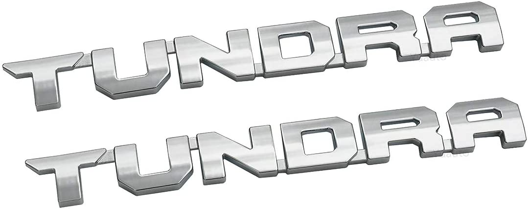 2pcs IFORCE 5.7L V8 Badge Side Emblem 3D Door Badge NamePlate Decals Stickers Replacement for IFORCE Black