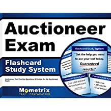 Auctioneer Exam Flashcard Study System: Auctioneer Test Practice Questions & Review for the Auctioneer Exam (Cards)