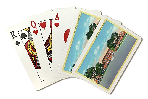 Ogden, Utah - Exterior View of the Ogden Union Depot (Playing Card Deck - 52 Card Poker Size with Jokers) ()