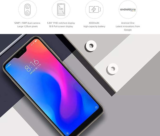 Xiaomi 669614753940, 4GB/64GB, Gold: Amazon.es: Electrónica