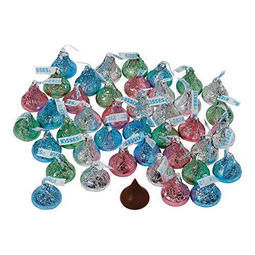 Hershey's Pastel Kisses for Easter - Edibles - Chocolate - Branded Chocolate - Easter - Approx. 72 Pieces-11 Ounce Bag