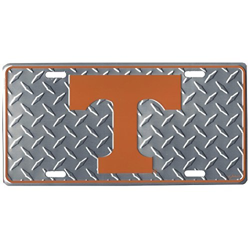 (NCAA Tennessee Volunteers Diamond Plate Car Tag)