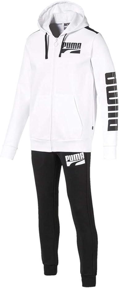 Puma 580491-02 - Chándal para hombre - Color blanco blanco S ...