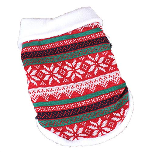 Christmas Warm Dog Clothes Pet Clothes for Dog Clothing Winter Coat Jacket Puppy Outfit Pet Chihuahua -
