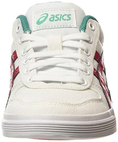 ASICS - Aaron Gs, Zapatillas Niños Blanco (white/classic Red 0123)
