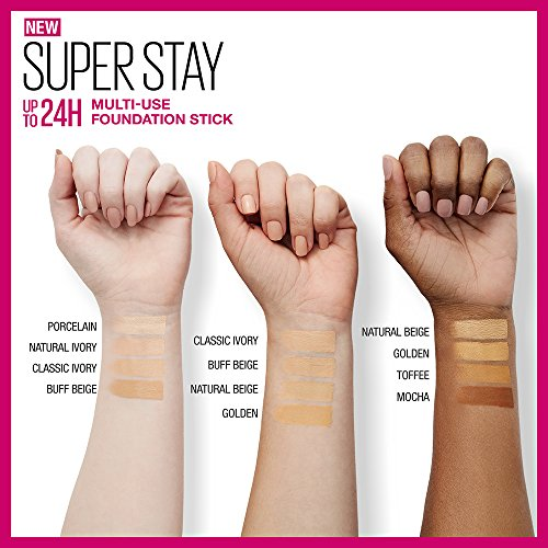 Maybelline Super Stay Foundation Stick For Normal to Oily Skin, Classic Ivory, 0.25 oz. by Maybelline New York (Image #4)