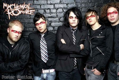 Chemical Romance Zero Music Poster product image
