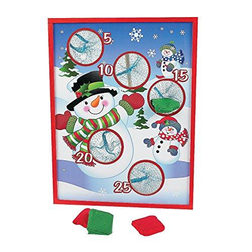 OTC Wooden Snowman Bean Bag Toss Game