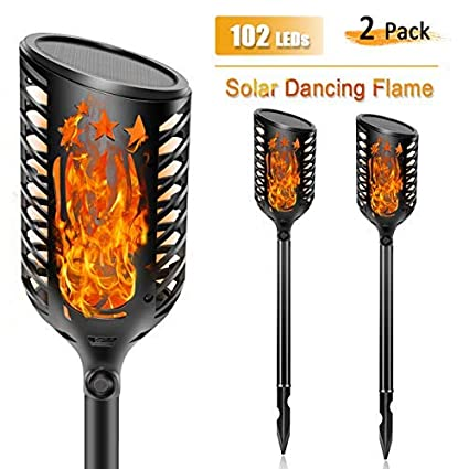 Led Lamps Lights & Lighting Beautiful Led Waterproof Outdoor Garden Landscape Decoration Lamp Solar Flame Flickering Lawn Lamp Torch Light Dancing Flame Lights