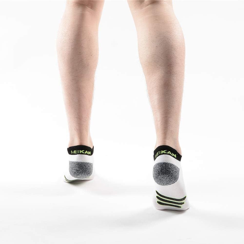 Calze Calzini da corsa Calzoni da corsa Calzini sportivi con suola in punta rinforzata 38-45 EU 5 paia Calze Sportive per Uomo e Donna mezza imbottita in cortocircuito Athletic Dimensione di calzini