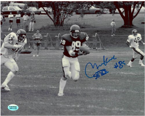 Mitch Krenk Chicago Bears Autographed 8x10 Football Photo 3 With Inscription ()