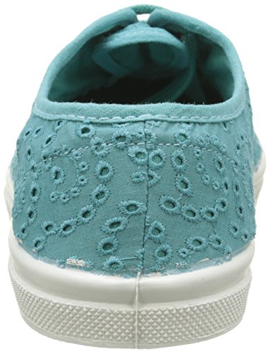 Anglaise Donna Sneaker Turchese Bensimon Turquoise Broderie Tennis Turquoise 505 nBOHHqx4