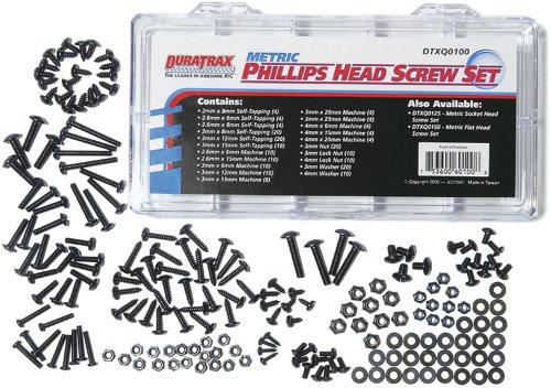 Duratrax Metric Phillips Head Screw Set