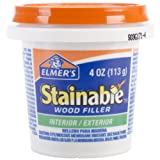 Office Products : Elmer's Stainable Wood Filler, INTERIOR/EXTERIOR
