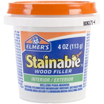 Elmer 39 S Stainable Wood Filler Interior Exterior Wood Fill