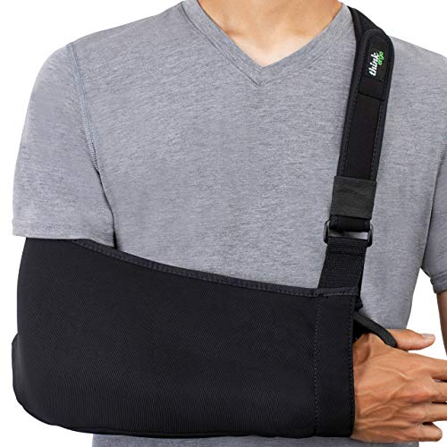 Think Ergo Arm Sling Sport - Lightweight, Breathable, Ergonomically Designed Medical Sling for...