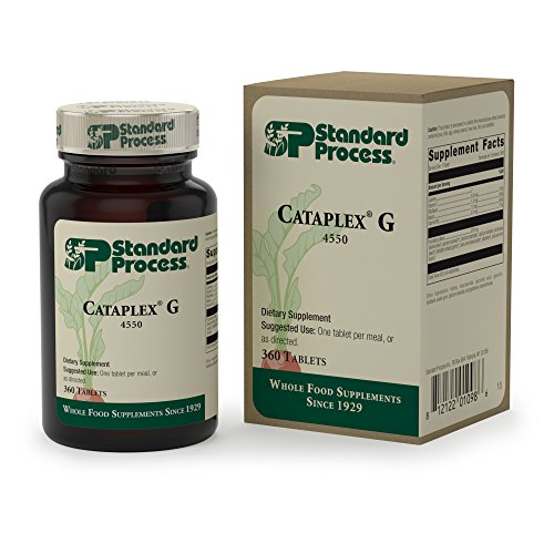 Standard Process - Cataplex G - Supports Brain and Nervous System Function, Liver and Metabolism, Provides Antioxidant Vitamin C, Riboflavin, Niacin, Vitamin B6-360 Tablets by Standard Process