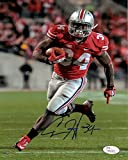 Carlos Hyde Autographed Ohio State Buckeyes 8x10 Photo JSA