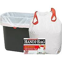 Bolsas de cocina altas con cordón ajustable, 13 galones, 61 cm * 69,5 cm, 50 /caja
