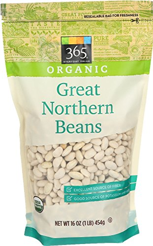 365 Everyday Value, Organic Dried Great Northern Beans, 16 Ounce